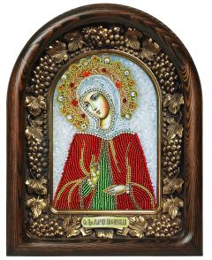 Икона бисером Мария Вифинская купить с доставкой