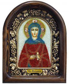 Икона бисером Мелания (Милания) купить с доставкой