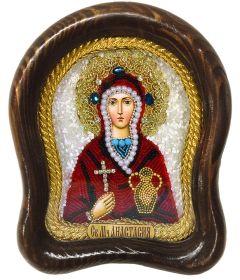 Икона бисером Анастасия Узорешительница купить с доставкой