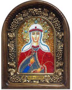 Икона бисером Дария (Дарья) купить с доставкой