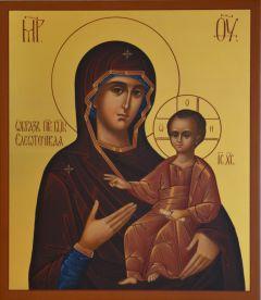 Рукописная икона Елеоточивая (Элеовритисса) купить с доставкой