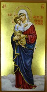 Рукописная икона Взыскание погибших купить с доставкой