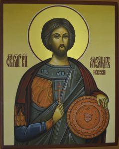 Икона князь Александр Невский