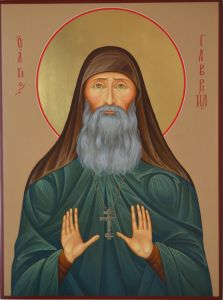 Рукописная икона Гавриил Ургебадзе