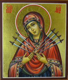 Семистрельная икона Богородицы купить с доставкой