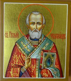Икона Святитель Николай Чудотворец купить с доставкой