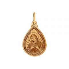 Золотая Семистрельная икона Божией Матери