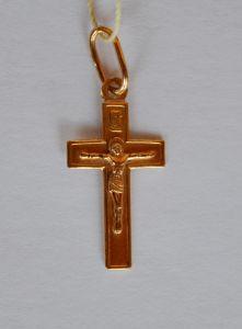 Золотой крестик купить с доставкой