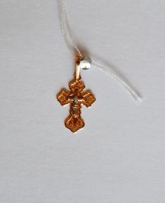 Золотой крестик детский купить с доставкой