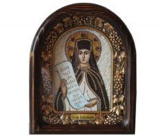 Икона из бисера Аполлинария купить с доставкой