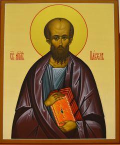 Рукописная икона Апостол Павел купить с доставкой