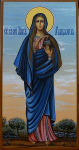 Мерная икона Мария Магдалина купить с доставкой