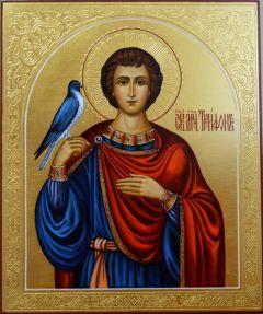 Рукописная икона Трифон мученик купить с доставкой