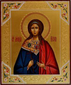 Рукописная икона Вера Римская купить с доставкой