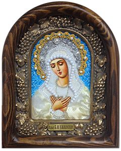 Икона Умиление Божией Матери бисером купить с доставкой