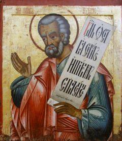 Рукописная икона Авдий Пророк купить с доставкой