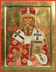 Рукописная икона Александр Самарский купить с доставкой