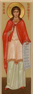 Рукописная икона Антонина Кродамнская