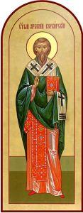 Рукописная икона Арсений Керкирский купить с доставкой