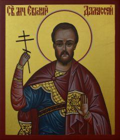 Рукописная икона Евгений Дамасский