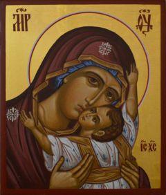 Рукописная икона Кардиотисса Сердечная купить с доставкой
