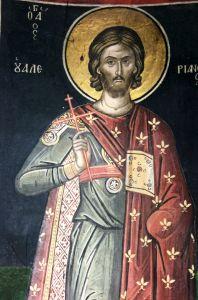Рукописная икона Валериан Трапезундский купить с доставкой