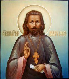 Рукописная икона Дмитрий (Димитрий) Спасский купить с доставкой