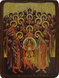 Икона состаренная Собор Архистратига Михаила