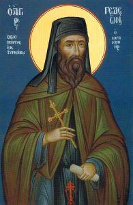 Рукописная икона Гедеон Каракалльский