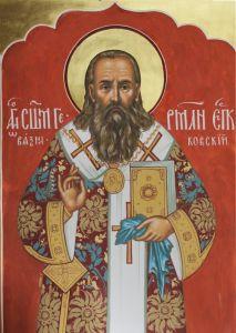 Рукописная икона Герман Вязниковский