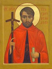 Рукописная икона Григорий Перадзе