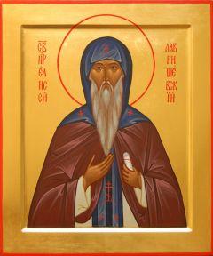Рукописная икона Елисей Лавришевский купить с доставкой