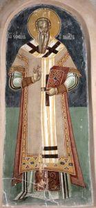 Рукописная икона Ефрем Сербский купить с доставкой