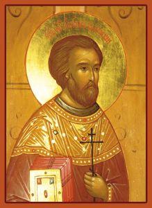 Рукописная икона Иоанн Валгаский