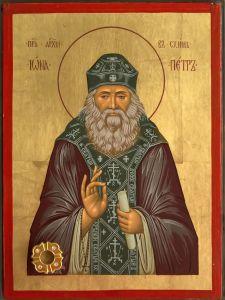 Рукописная икона Иона Киевский купить с доставкой