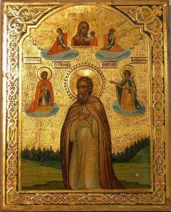 Рукописная икона Иосиф Заоникиевски купить с доставкой