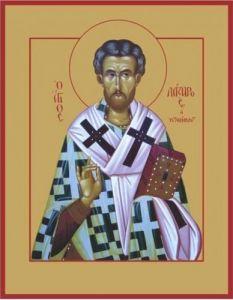Рукописная икона Лазарь Четверодневный