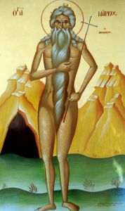 Рукописная икона Марк Афинский купить с доставкой