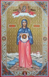 Мерная икона Вероника Праведная купить с доставкой