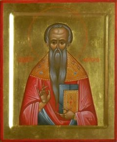 Рукописная икона Мирон Кизический купить с доставкой