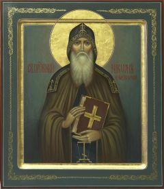 Рукописная икона Никон Печерский купить с доставкой