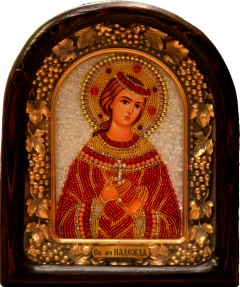 Икона из бисера Надежда Римская купить с доставкой