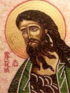 Икона из мозаики Иоанн Предтеча купить с доставкой