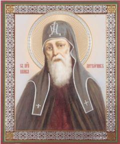 Рукописная икона Памва Печерский