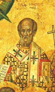 Рукописная икона Петр Мглинский купить с доставкой