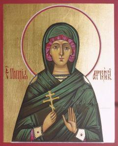 Рукописная икона Поплия Антиохийская купить с доставкой