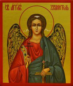 Рукописная икона Ангел-Хранитель маленькая купить с доставкой