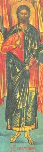 Рукописная икона Саторнин Критский купить с доставкой