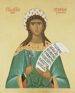 Рукописная икона Серафима Римская купить с доставкой