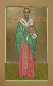 Рукописная икона Сикст Римский купить с доставкой